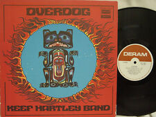 KEEF HARTLEY BAND - Overdog LP (1st US Pressing on DERAM w/Gatefold Cover)