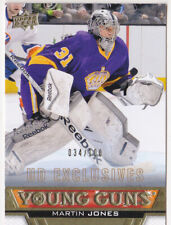 13-14 Upper Deck Martin Jones /100 UD Exclusives Young Guns Rookie Sharks 2013