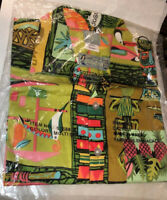 Rare Authentic Disney Enchanted Tiki Room Limited Ed M Shirt 40th Style 57688