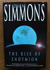 DAN SIMMONS: THE RISE OF ENDYMION (HYPERION). UK 1997 1st HEADLINE HARDBACK DJ.
