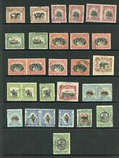North Borneo 1925/8 Selection Perf 12.5 (29 stamps)