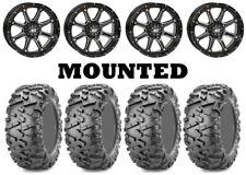 Kit 4 Maxxis Bighorn 2.0 Tires 26x9-14/26x11-14 on STI HD4 Gloss Black IRS