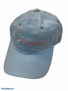 Women's Green Bay Packers Adjustable Ski Blue Cap Hat Ladies Reebok NEW