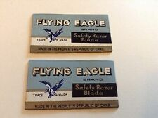 Vintage Razor Blades X 2 Flying Eagle