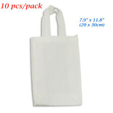 10pcspack New 79 X 118 Blank Sublimation Non Woven Shopping Bags Tote Bags