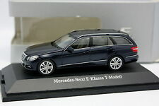 Schuco 1/43 - Mercedes Classe E W212 Break Bleue