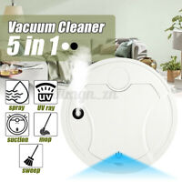 Rechargeable Automatic Smart Robot Vacuum Cleaner Edge Cleaning Suction