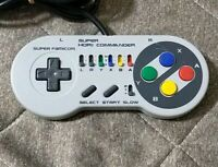 Used SFC SNES Super Hori Commander video game controller pad Super Nintendo