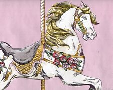 Carousel Horse Ride Wallpaper Border - ONLY $8 - York Wallpaper Borders - YK027