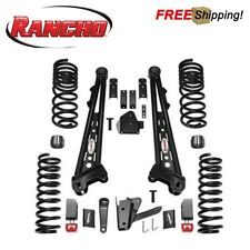 "Rancho 4.5"" Competition Radius Arm Lift Kit Fits 2014-2018 Ram 2500 3500 Cummins"