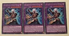 3 x Gravekeeper's Supernaturalist SOFU-EN035 - Rare - 1st Edition YuGiOh NEW