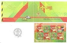 Belarus: mint booklet, EUROPA - Scout Movement, 2007, Mi#663-4, MNH