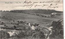 Wiest's Dam in York Pa Pre 1908