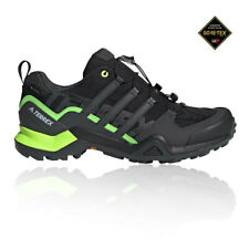 adidas Mens Terrex Swift R2 Mid GORE-TEX Walking Shoes Black Grey Sports