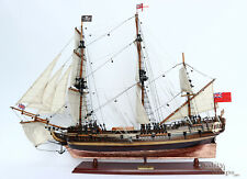 """Whydah Gally Copper Plates Hull Handcrafted Wooden Ship Model  38"""""""