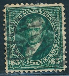DR JIM STAMPS US SCOTT 278 $5 MARSHALL USED NO RESERVE