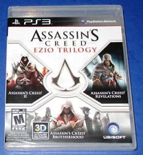 Assassin's Creed: Ezio Trilogy PlayStation 3 *New! *Sealed! *Free Shipping!