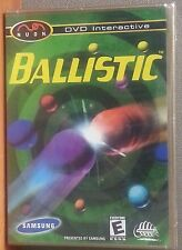 Ballistic - Samsung NUON DVD Interactive Puzzle Game - New Sealed - RARE Game