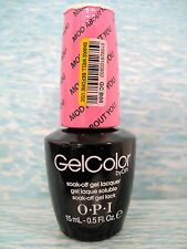 OPI GELCOLOR GC B56 MOD ABOUT YOU ~ THE SHOWSTOPPERS Gel Color Polish .5 oz *NEW