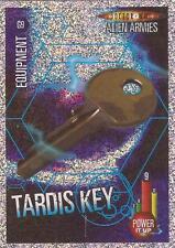 "Doctor Who Alien Armies - ""Tardis Key"" Glitter Foil Card G9"