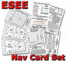 ESEE Izula Gear Navigation Card Set 5 Cards NAV-CARD