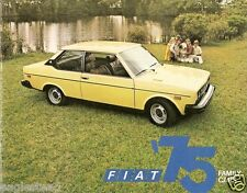 Auto Brochure - Fiat - 128 131 Family Cars 1975 - New York Twin Towers (AB111)