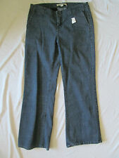 NEW WITH TAGS WOMEN'S FOREVER 21 XXI BLUE JEAN PANTS SIZE 30 BOOTCUT JEANS CUTE!