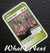 Woolworths<AUSSIE ANIMALS><Series 2 Baby Wildlife>CARD 8/36 TREES Ghost Bat