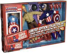 Marvel Captain America 8 Inch Retro Action Figure Set