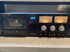 Tascam 112 Cassette Deck - As-Is, High Flutter Spec.