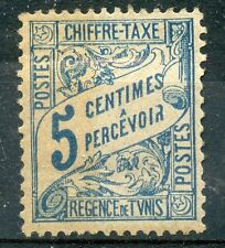 TIMBRE COLONIES FRANCAISES TUNISIE NEUF TAXE N° 28 *