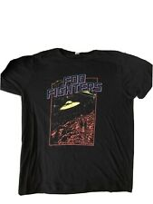 Foo Fighters T Shirt 2015 Tour Youth medium (size 8) Black Preowned Ufo