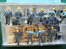 Preiser (HO 1:87) Construction Workers w/Accessories #10220