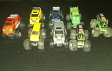 Monster Truck Lot Of 8 2 GRAVE DIGGERS
