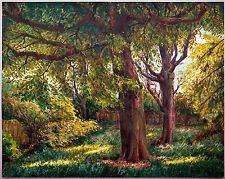 Alte Bäume 1942 Aquarell, Paul Groß (1873-1942 Dresden) Neue Sachlichkeit