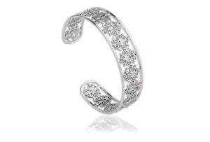 NEW Official Welsh Clogau Gold Silver & Rose Gold Bohemia Bangle £155 off!
