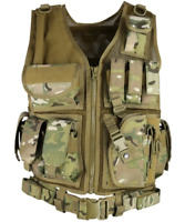 Kombat UK Cross Draw Tactical Vest - BTP  Military Army Style