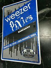 Weezer Pixies Des Moines Concert Tour Metal Sign Poster 12�x18�