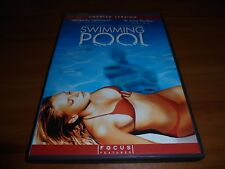Swimming Pool (DVD, 2004, Widescreen Unrated) Charlotte Rampling Used
