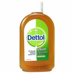 Dettol Liquid Antiseptic for First Aid - Original - 500ml