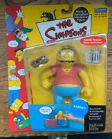 Simpsons Barney Gumble WOS Wave 2 Action Figure by Playmates