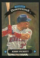 KIRBY PUCKETT 1992 Donruss Baseball DIAMOND KINGS #DK-4 Minnesota Twins HOF