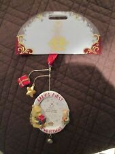 Disney Store Winnie The Pooh Ornament Babys First Christmas 2004 Rare Nrfp