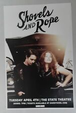 Shovels and Rope - St. Petersburg * ORIGINAL CONCERT POSTER 2017 * FREE SHIPPING