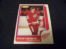 1986-87 OPC O-Pee-Chee #11 Steve Yzerman 3rd year Detroit Red Wings - exmt (mk)