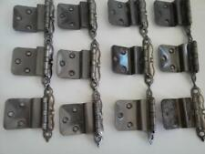 "100 Cupboard Hinges 3/8"" Offset Country Kitchen Colonial Style NOS FS"