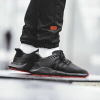 ADIDAS MENS BLACK BOOST PURE LTD EQT SUPPORT SHOES LIMITED ULTRA RUN NMD CQ2394