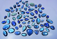 Natural Blue Flash Blue Labradorite Wholesale Cabochon Gemstone Lot