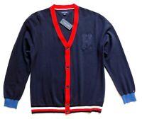Tommy Hilfiger Men's Signature Cardigan Sweater Size: XXL