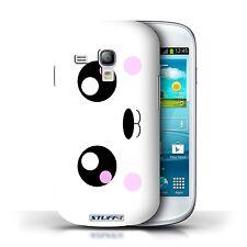 STUFF4 Hülle/Case für Samsung Galaxy S3 Mini/Panda/Nette Kawaii